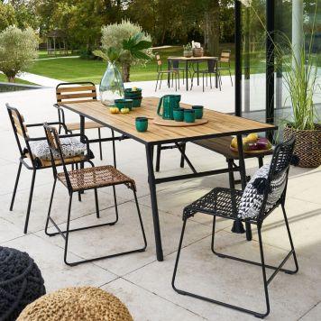 Table pliante de jardin La Redoute Intérieurs // Hellø Blogzine blog deco & lifestyle www.hello-hello.fr