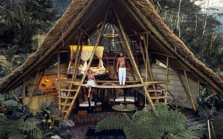 Shopping déco inspiration ecolodges balinais - Get the look : Bali ecolodge home decor ideas // Hellø Blogzine blog deco & lifestyle www.hello-hello.fr