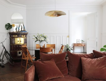 L'appartement parisien chic d'une canadienne // Hellø Blogzine blog deco & lifestyle www.hello-hello.fr