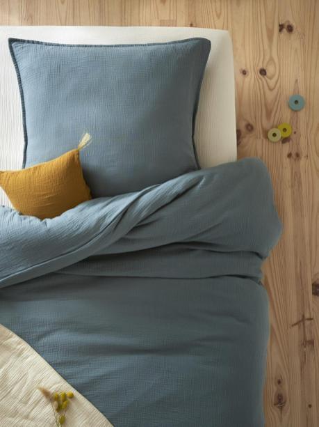 Linge de maison en gaze de coton // Hellø Blogzine blog deco & lifestyle www.hello-hello.fr