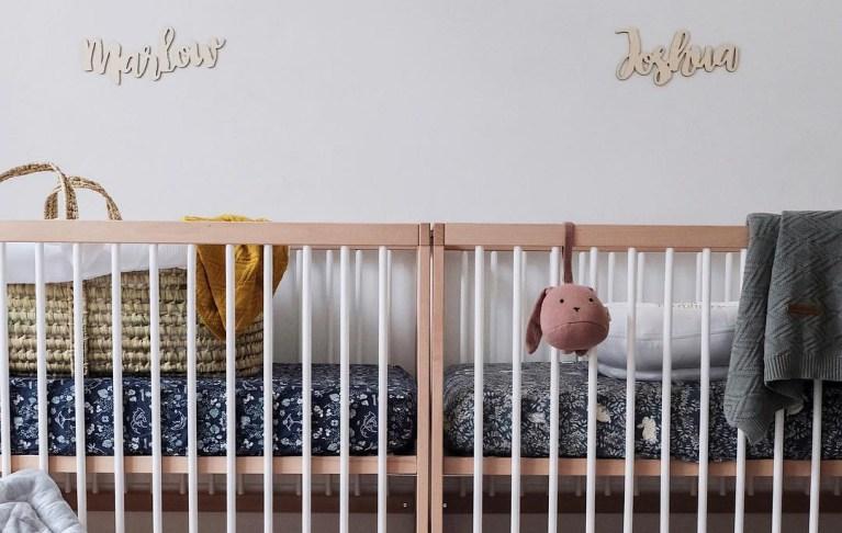 Astuces déco : comment aménager une chambre de jumeaux ?