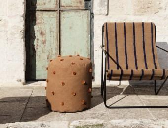 Chaise desert lounge Ferm Living // Hellø Blogzine - blog déco lifestyle - www.hello-hello.fr