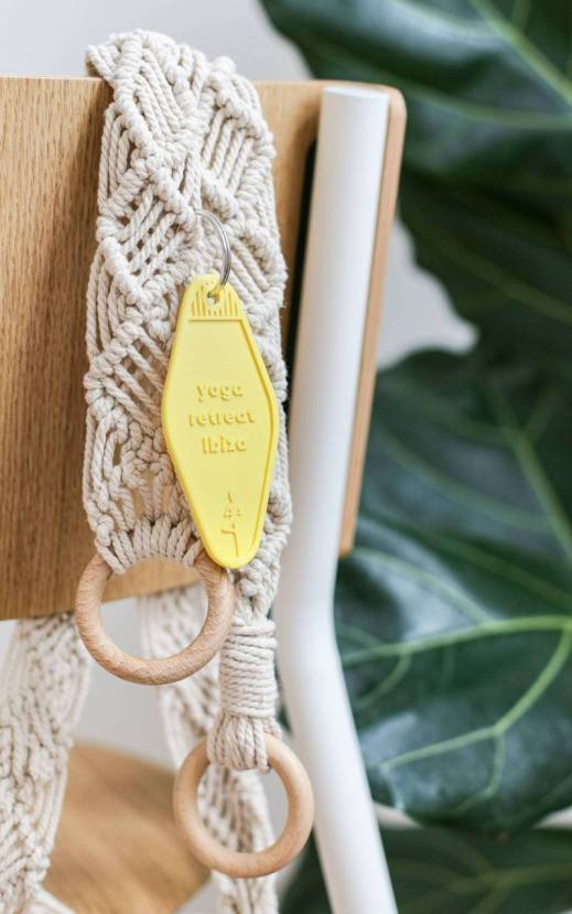 DIY sangle de tapis de yoga en macrame// Hellø Blogzine blog deco & lifestyle www.hello-hello.fr