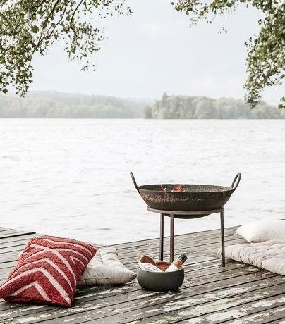 18 brasero pour profiter du jardin été comme hiver // Hellø Blogzine blog deco lifestyle www.hello-hello.fr