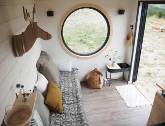 La tiny house scandinave d'Agnès, La Prune du Jardin // Hellø Blogzine blog deco & lifestyle www.hello-hello.fr
