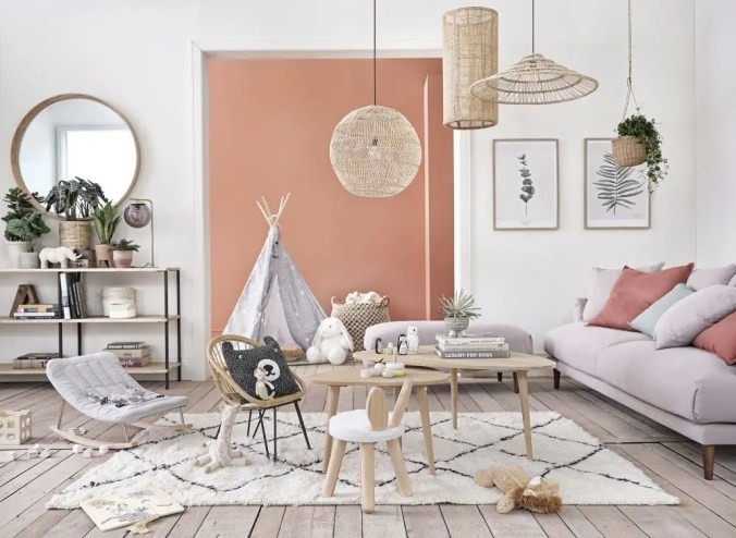 Get the look : la décoration californienne de Almost Makes Perfect // Hellø Blogzine blog deco & liInstagramfestyle www.hello-hello.fr