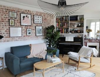 Mini appartement Maxi Effet chez Marina et Pierre-Alexandre // Hëllø Blogzine blog deco & lifestyle www.hello-hello.fr
