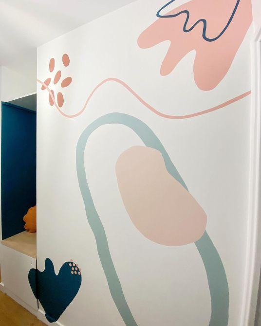 Tendance fresque murale // Hellø Blogzine blog deco & lifestyle www.hello-hello.fr