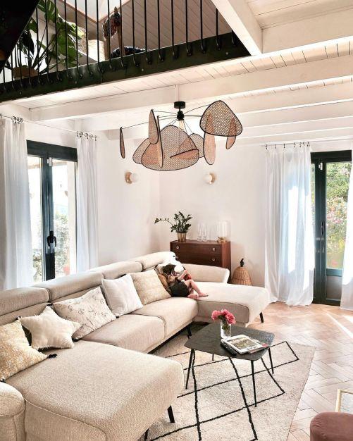La maison authentique chic d'Emilie Lanfranchi // Hellø Blogzine blog deco & lifestyle www.hello-hello.fr