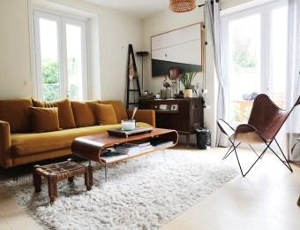La maison rétro et bohème de Jessica Venancio // Hellø Blogzine blog deco & lifestyle www.hello-hello.fr