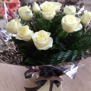 Heavenly White Flower Bouquet