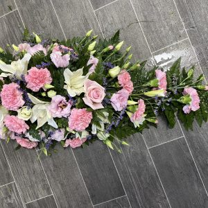 single end spray funeral flowers