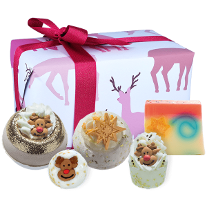 Hello Petal Florist Glasgow - Bomb Cosmetics Rudolph Nose Best Gift Pack