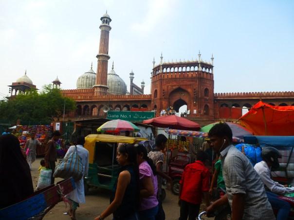 Delhi - 2013.10 Jama Masjid (grande mosquée) (7)