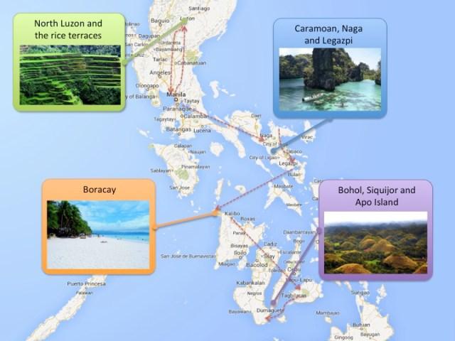 Map Philippines