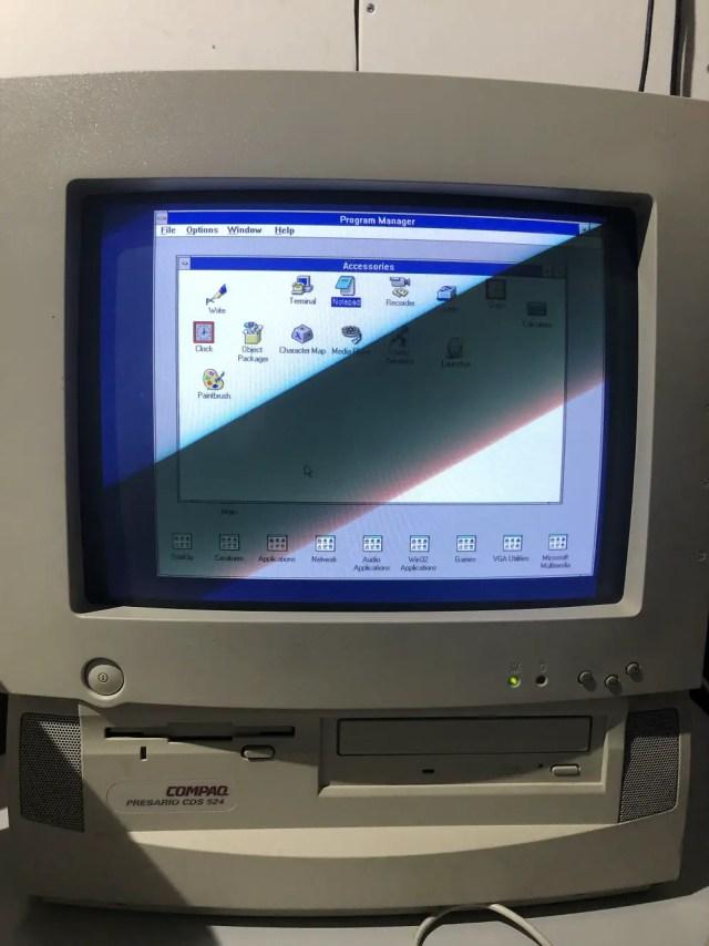 windows3.x Computing History Museum vintage computing