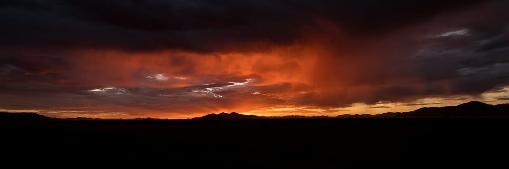 Sonnenuntergang auf NamibRand