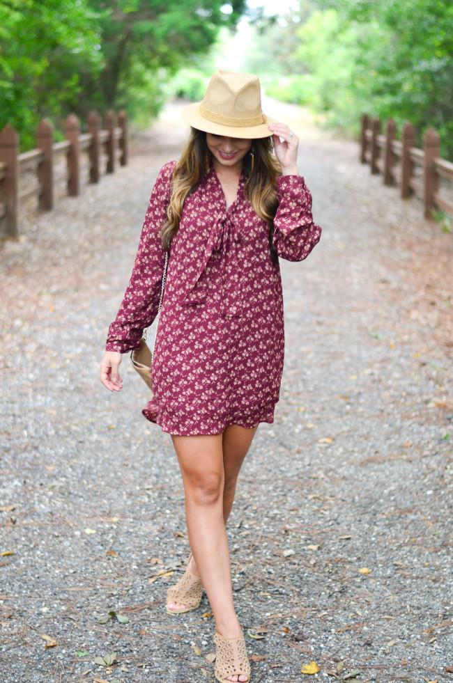 Maroon_dress-4