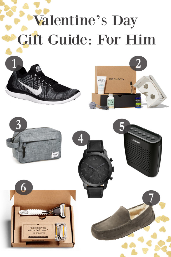 Valentines Gift Guide Mens