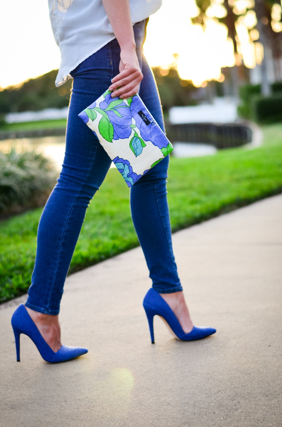blue shoes and blue jeans-1