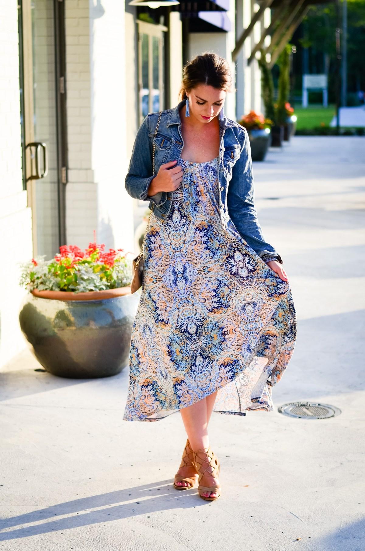 Paisley Maxi Dress-25