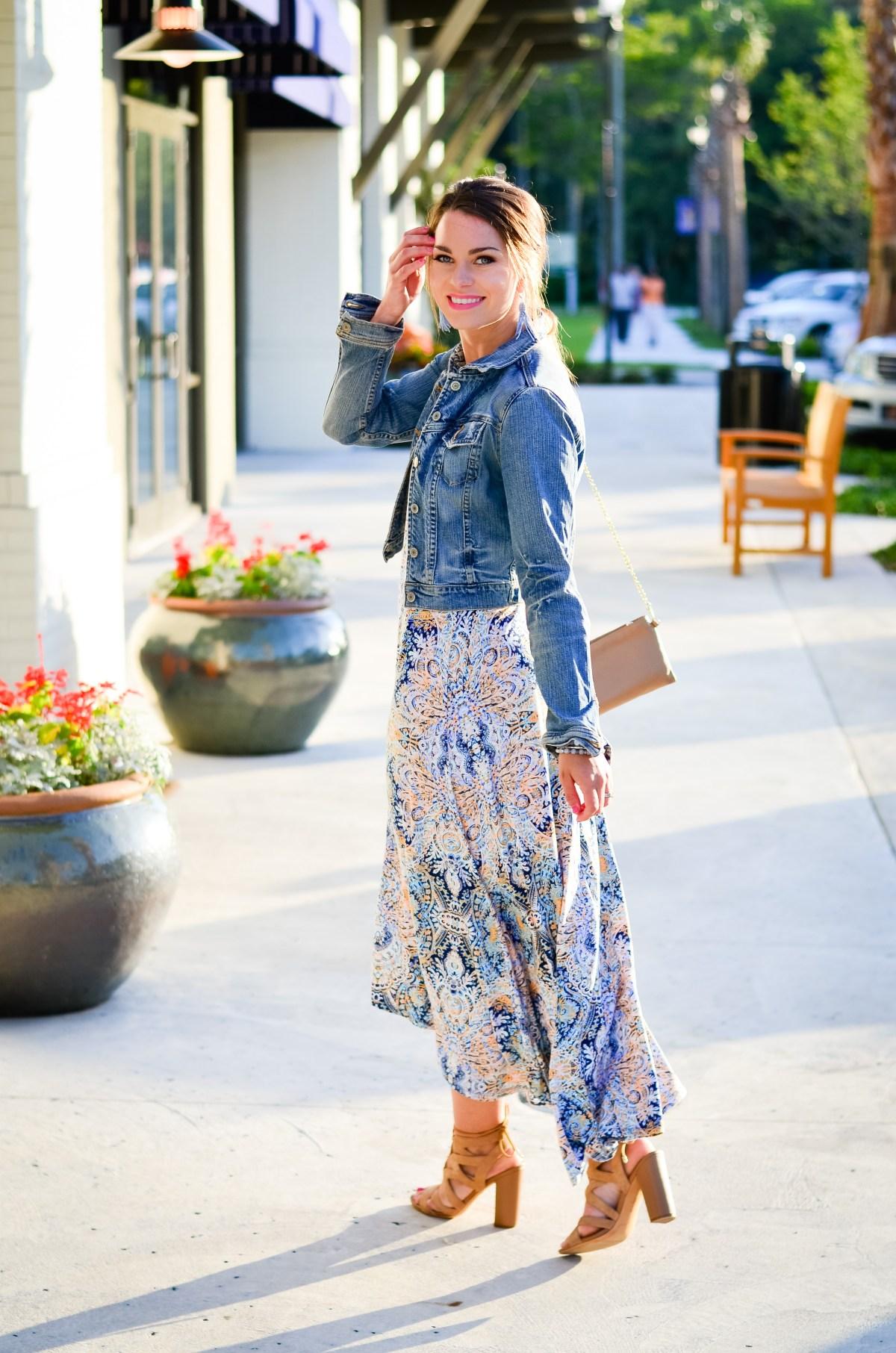 Paisley Maxi Dress-27