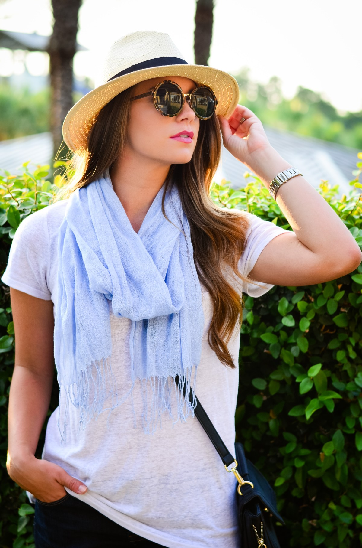 fedora and blue scarf-8