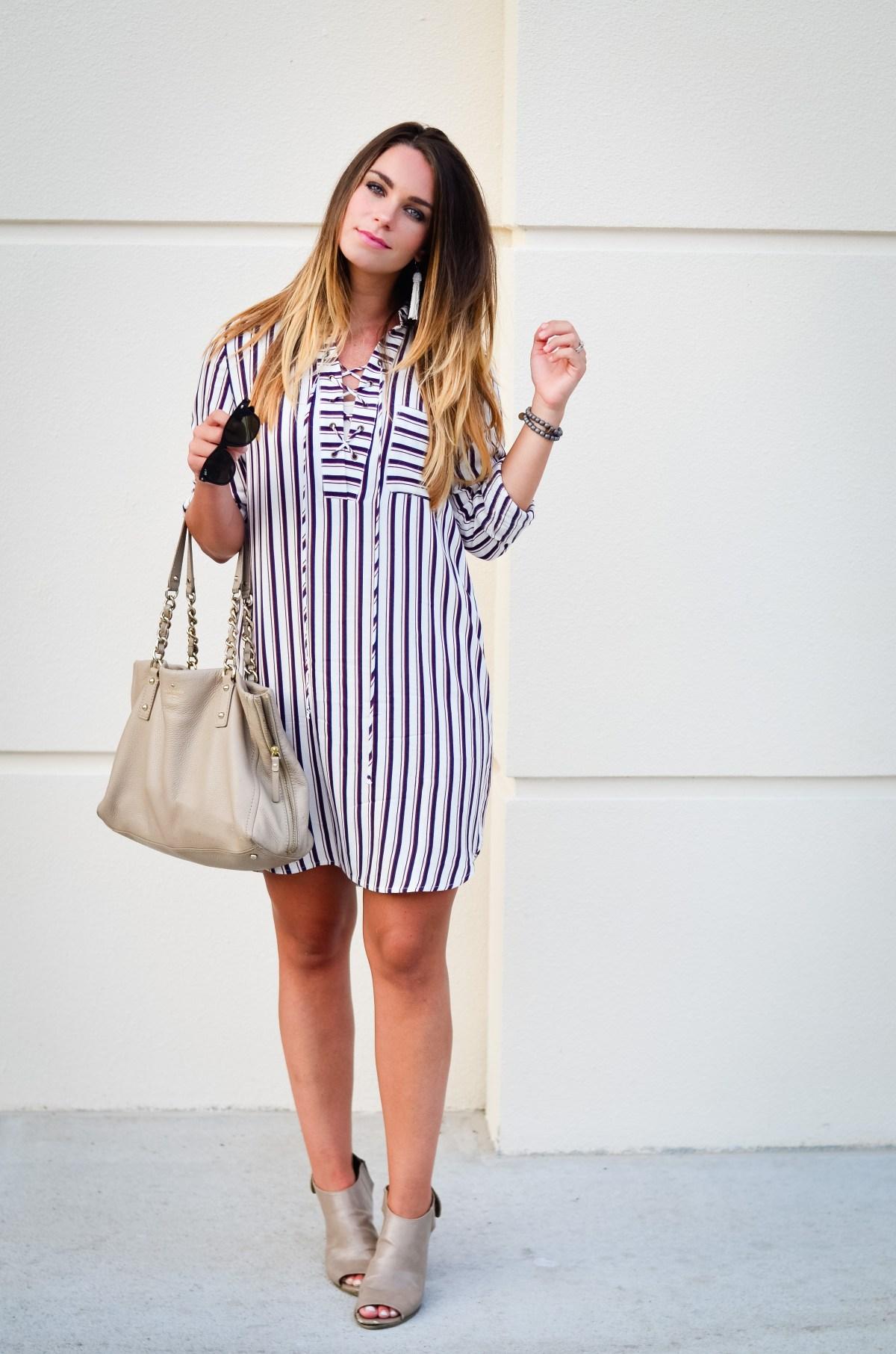 wayf shirt dress -8