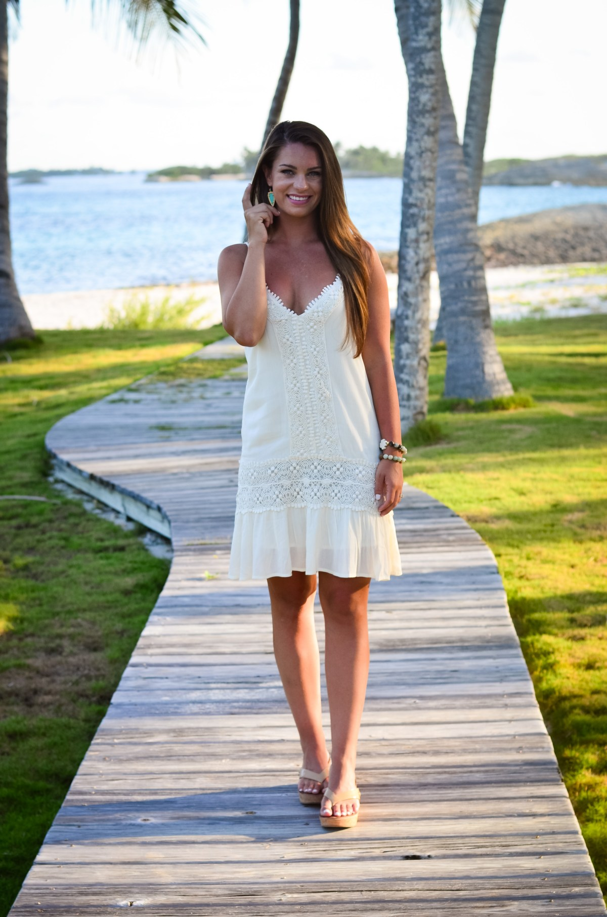 white lace island dress-4
