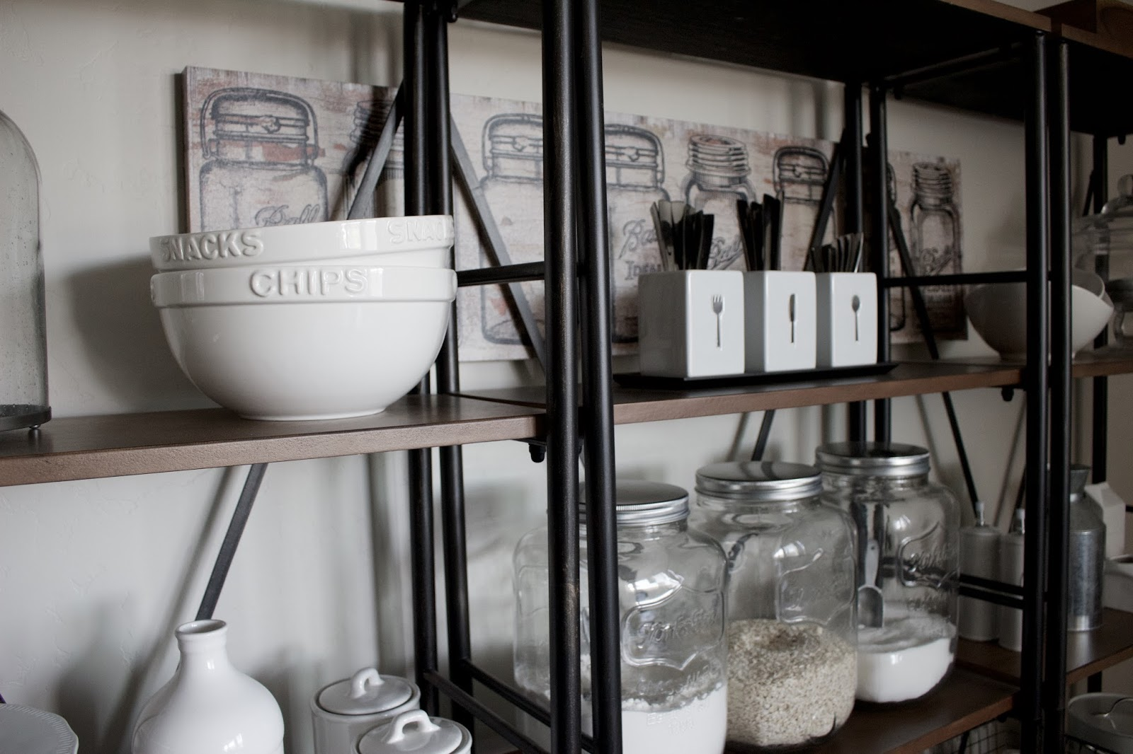 Dining shelves hello allison for Decor steals