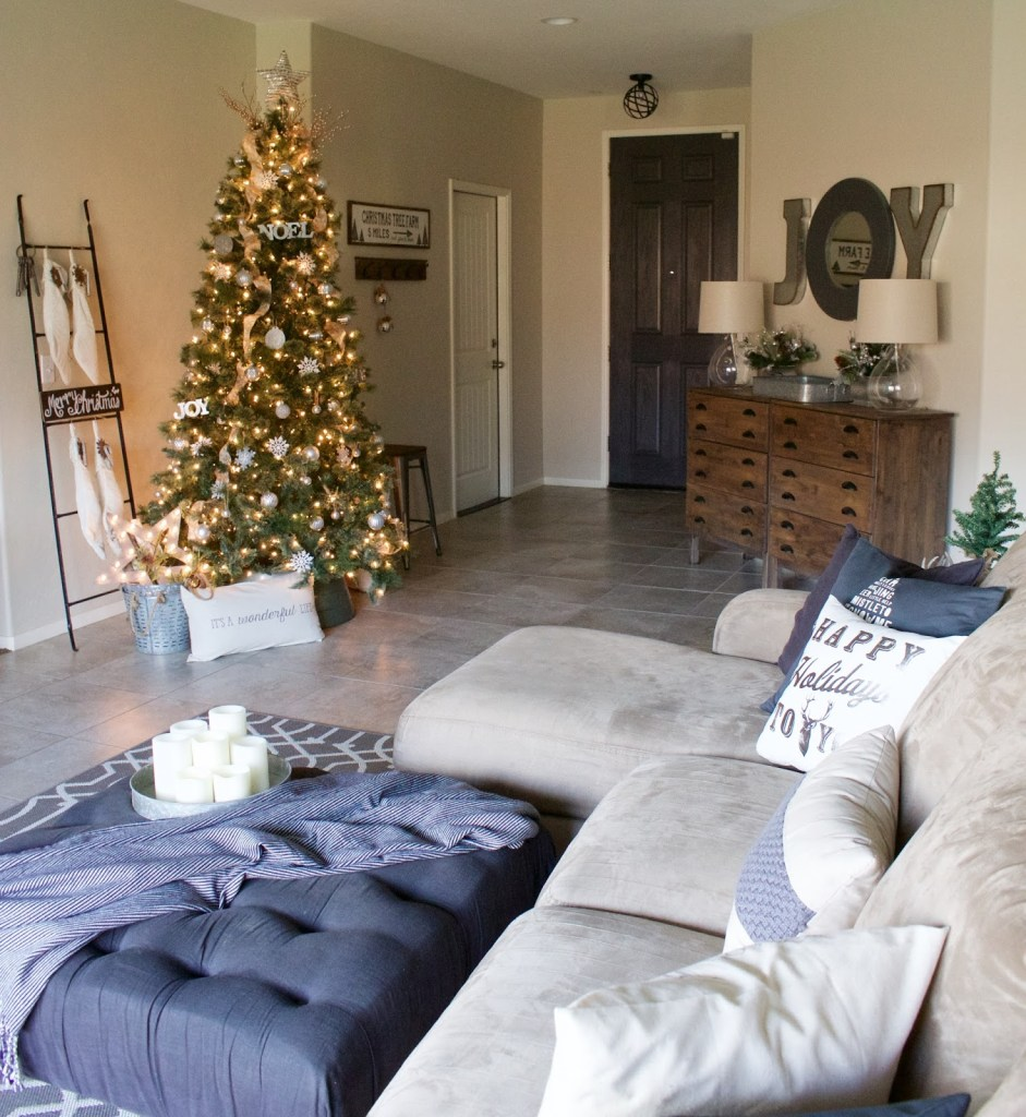 christmas house home tour