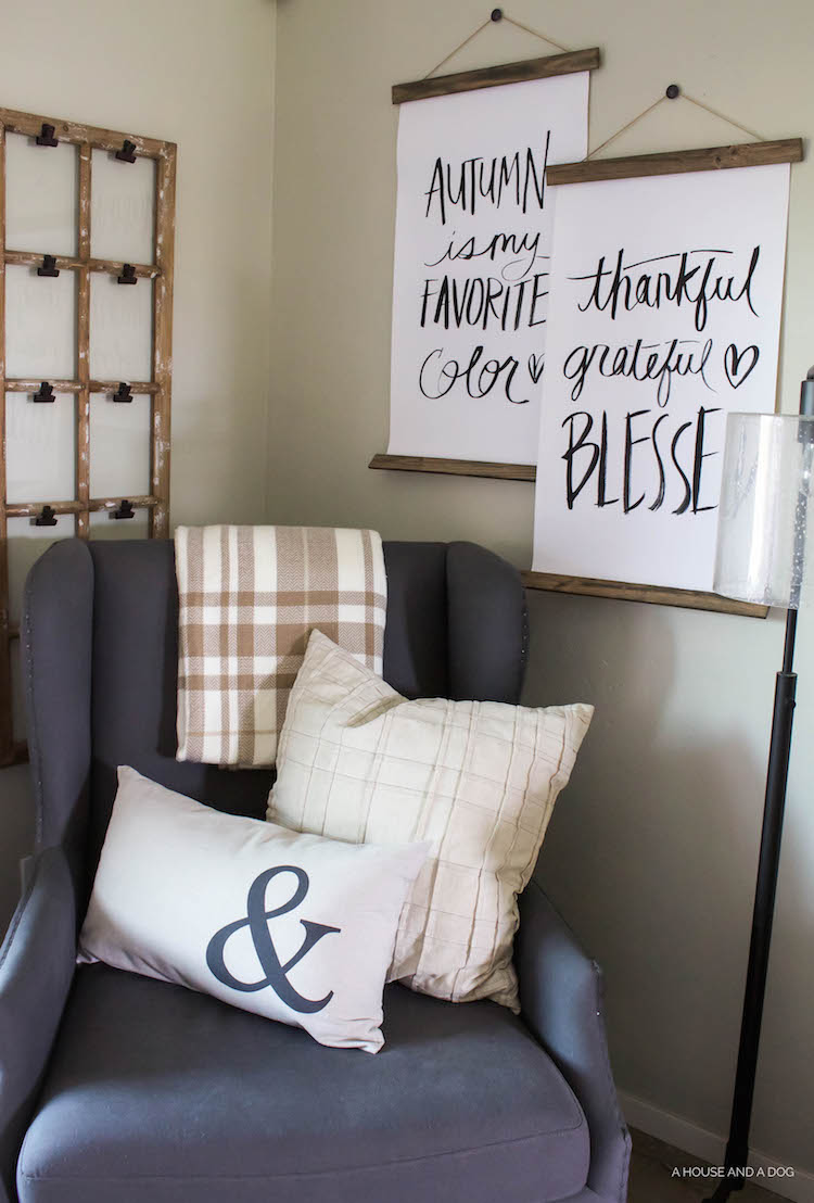 Decorating for Fall - Simple & Easy | helloallisonblog.com