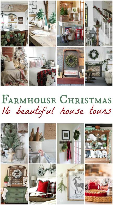 A Very Farmhouse Christmas Home Tour | helloallisonblog.com