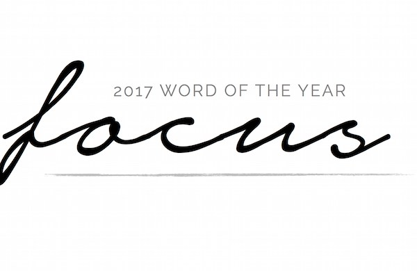 2017 Word of the Year | helloallisonblog.com
