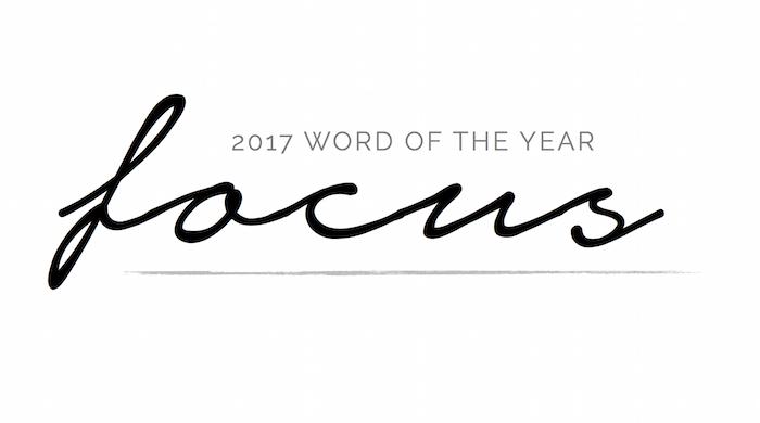 2017 Word of the Year | helloallisonblog.com