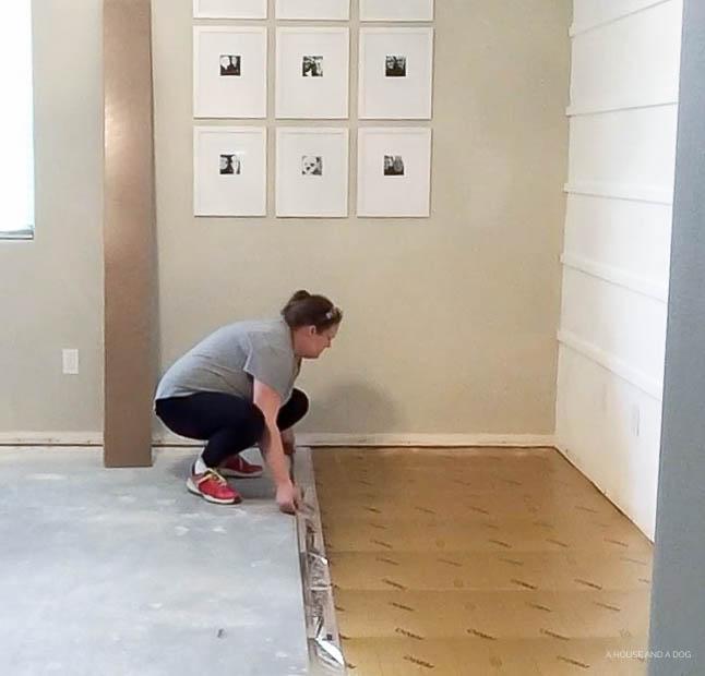 Pergo Installation | helloallisonblog.com