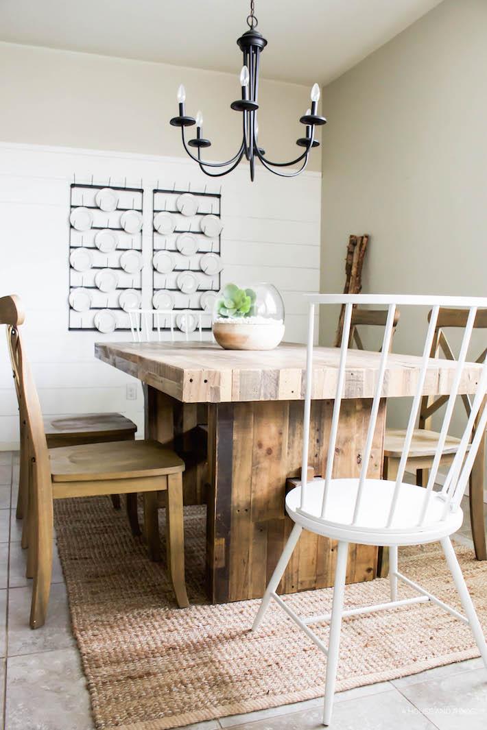 Farmhouse Dining Chairs - New Modern Windsor Chairs!   helloallisonblog.com