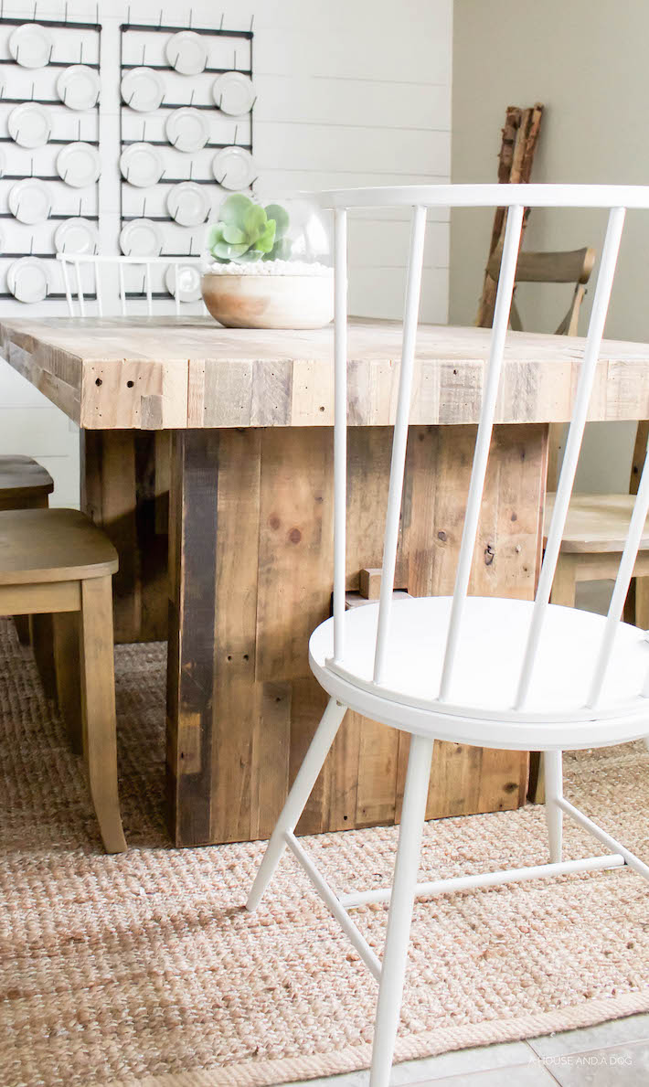 Farmhouse Dining Chairs - New Modern Windsor Chairs! | ahouseandadog.com