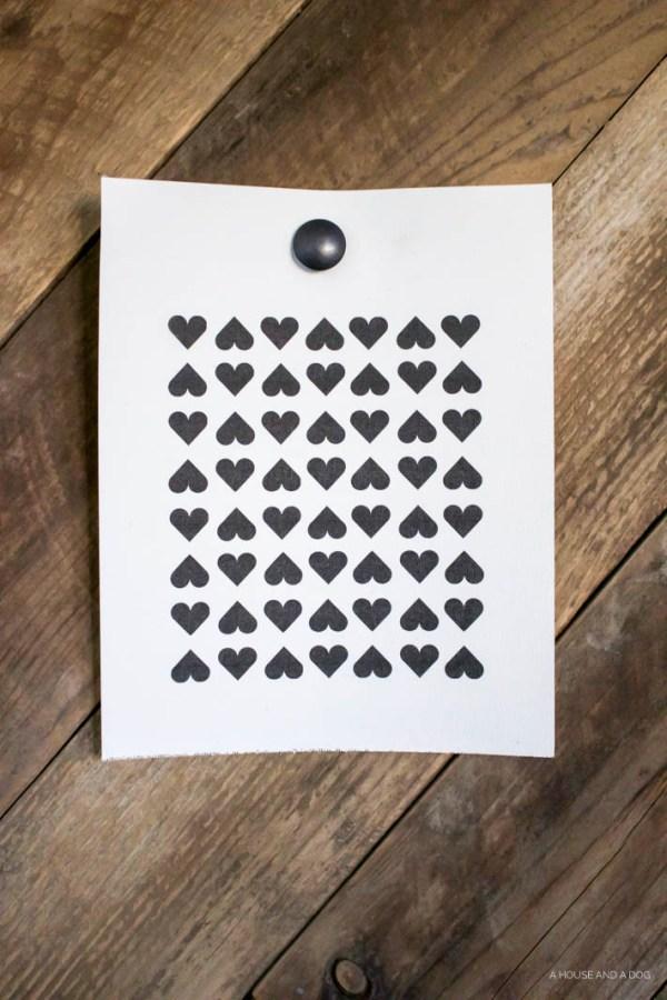 FREE Modern Valentine Printables | helloallisonblog.com