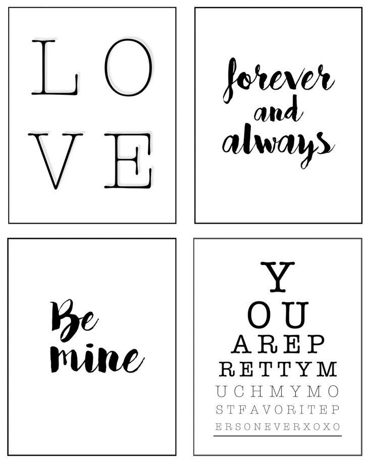 FREE Valentine's Day Printables | ahouseandadog.com