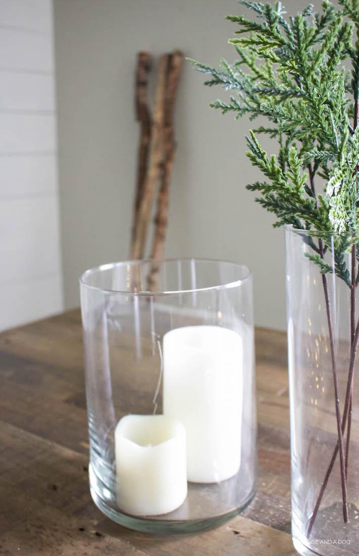 Decorating After the Holidays - Winter Decor | helloallisonblog.com