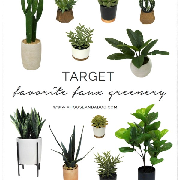 Favorite Faux Greenery from Target | helloallisonblog.com