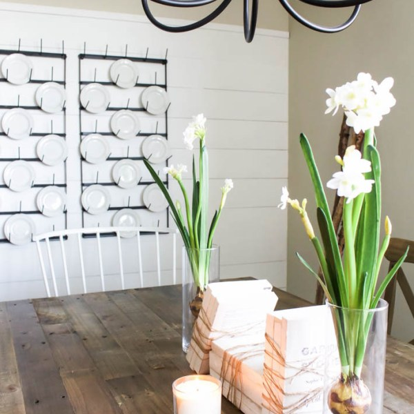 Spring Home Tour | 5 Ways to Decorate for Spring without Shopping | helloallisonblog.com