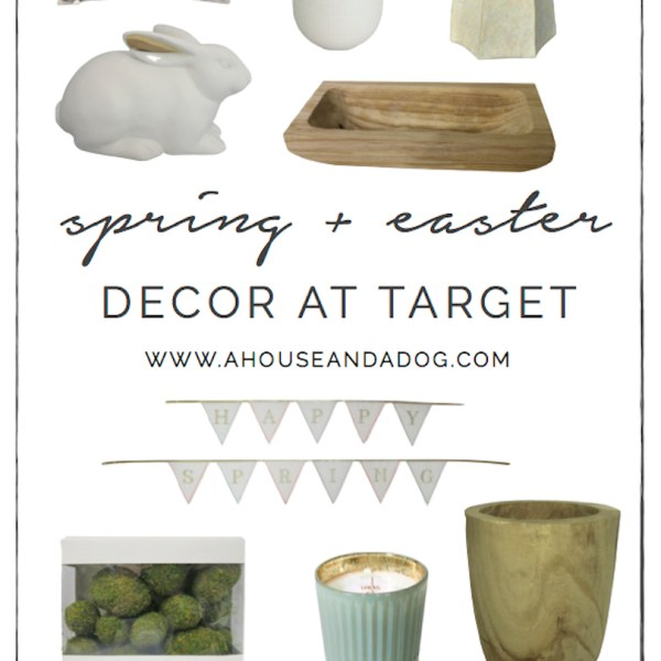 Spring + Easter Decor at Target | helloallisonblog.com