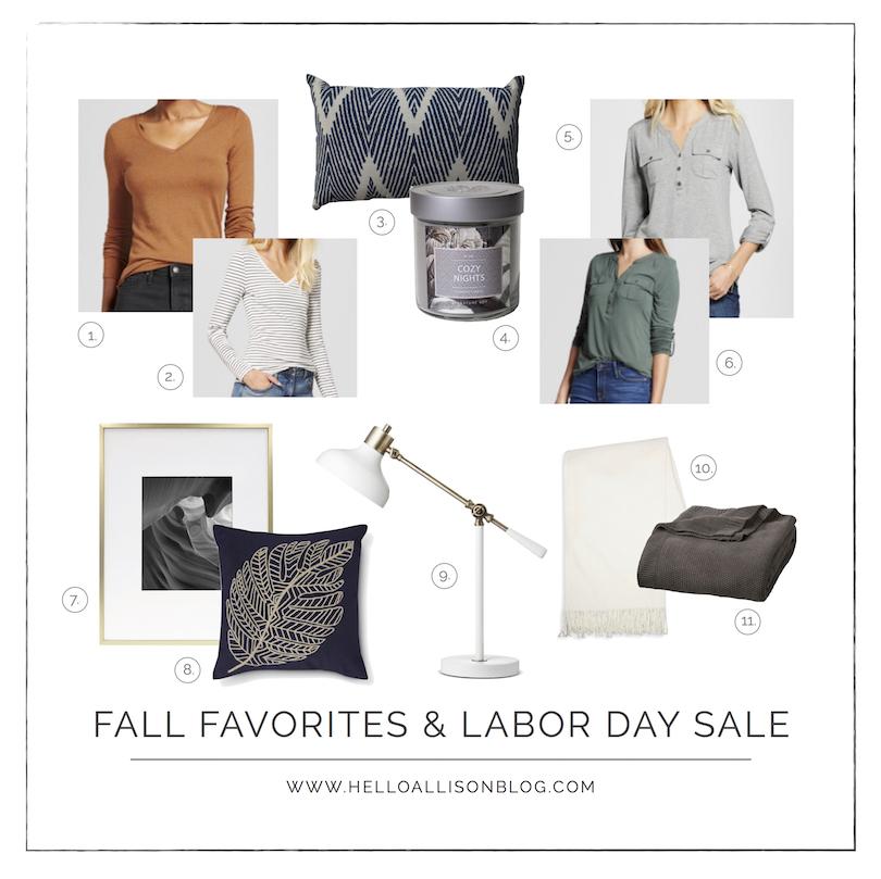 Fall Favorites | Home Decor & Fashion from Target | helloalllisonblog.com