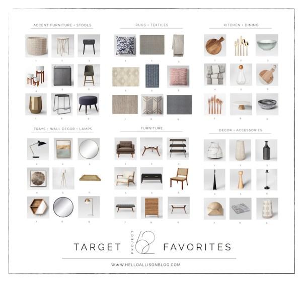 Target's Project 62 Favorites - Target Thursday | helloallisonblog.com
