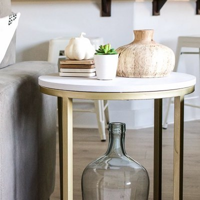 Accent Table Makeover with MudPaint