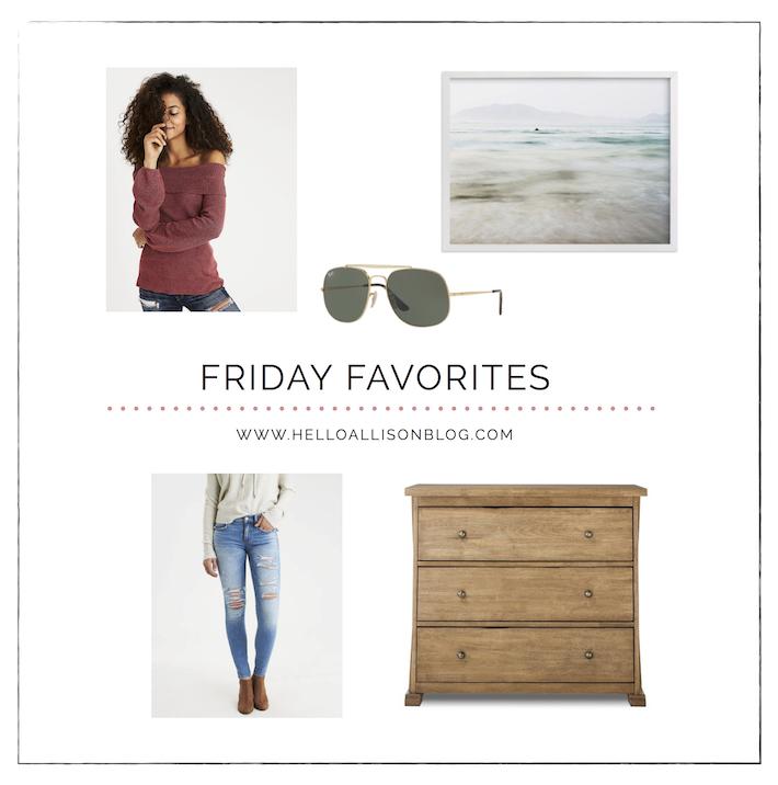 Friday Favorites 018 | helloallisonblog.com
