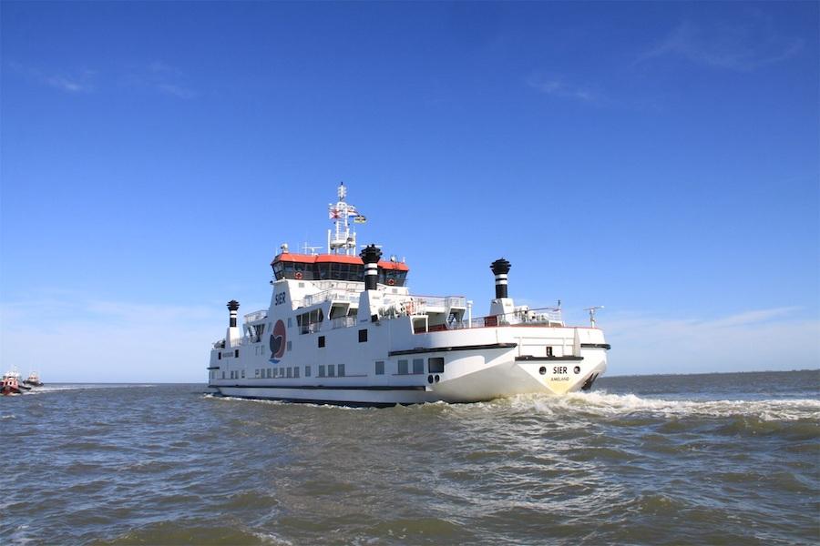 Boot Ameland veerboot Wagenborg