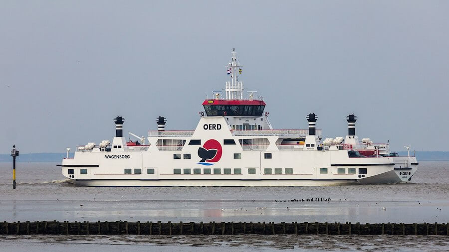 Wagenborg Oerd boot Ameland